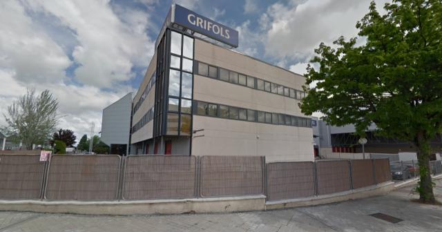 Nave logística de Grifols en Coslada (Madrid)