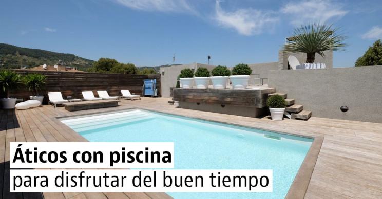 10 impresionantes áticos con piscina privada que te quitarán el calor