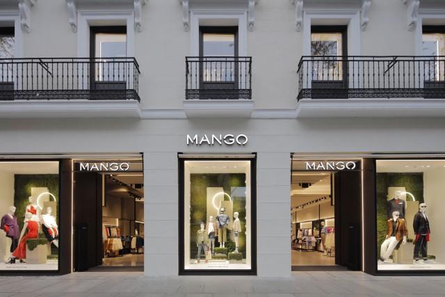 Fachada de la nueva flag ship de Mango en la calle Serrano / Mango
