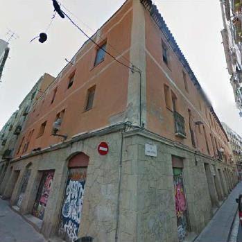 fachada de la casa fábrica en la calle Paloma / Ayuntamiento de Barcelona