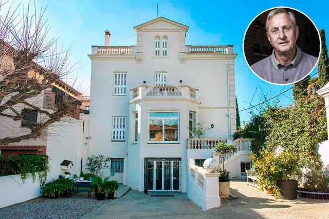 Imagen  - Así es la casa donde vivió Johan Cruyff y que está a la venta en idealista