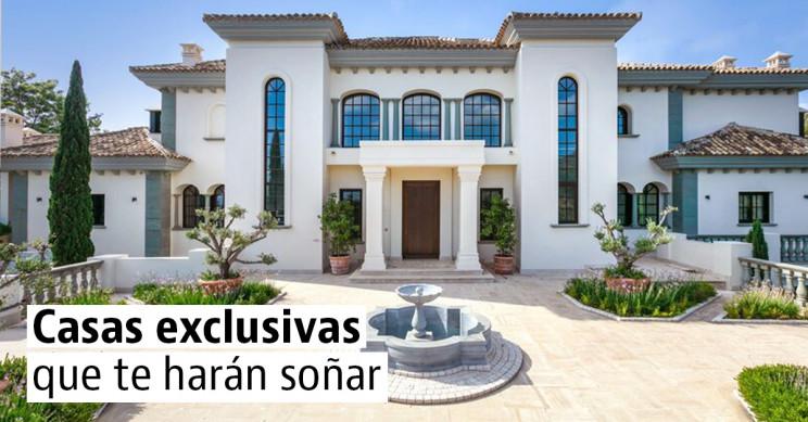 Casas exclusivas para vivir en España