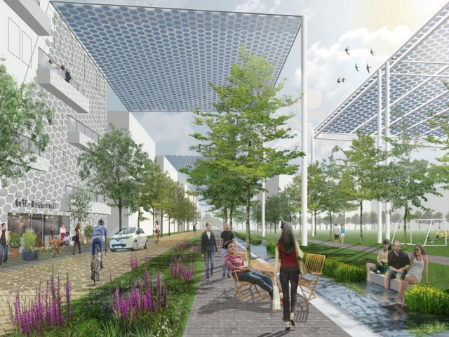Imagen  - Pabellones solares y molinos flotantes: bienvenido a la asombrosa ciudad verde del futuro