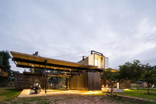 Imagen  - Puro reciclaje: 10 ejemplos de casas y oficinas construidas con contenedores marítimos