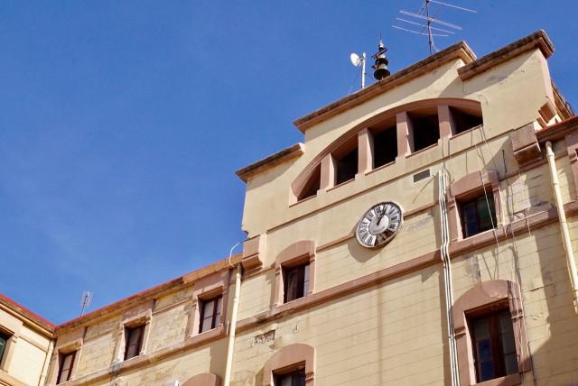 Fachada desde el patio de la cárcel La Modelo / Ajuntament de Barcelona