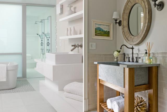 70e201494dca Ideas de decoración: los lavabos más originales que darán a tu baño ...