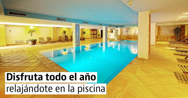 Casas con piscina cubierta y climatizada, tu spa en casa