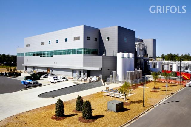 La catalana del Ibex ya cuenta con una planta de biomedicina en Clayton, de 14.300 m2. / Grifols