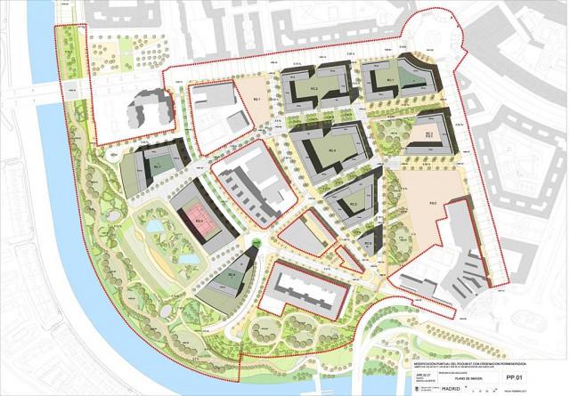 Plano del ámbito Mahou-Calderón | Ayuntamiento de Madrid