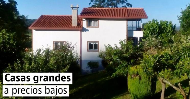 20 casas grandes a buen precio en España