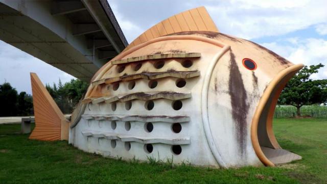 Imagen  - De una tortuga a un cangrejo robot: los baños públicos más extravagantes de Japón