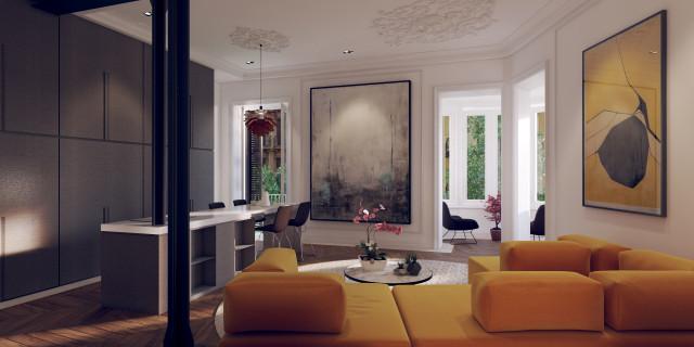 Esta es una de las tres viviendas ubicadas en ronda Sant Pere / Barnes International