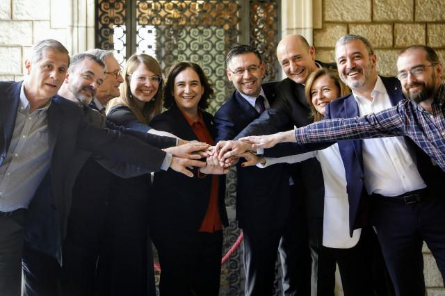 'Espai Barça' ha sido un acuerdo con todos los grupos municipales, excepto la CUP / Ajuntament de Barcelona