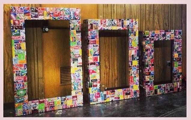 Estos muebles tan originales estn hechos con materiales reciclados
