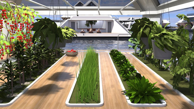 El complejo contará con granjas y huertos