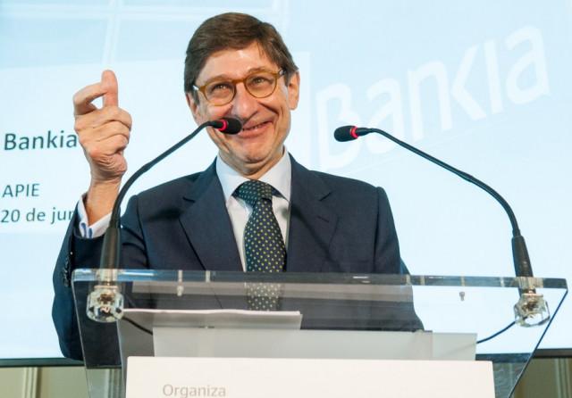 José Ignacio Goirigolzarri, presidente de Bankia / Foto: APIE