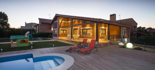 Modelo de vivienda prefabricada que ofrece Eurocasas / Eurocasas