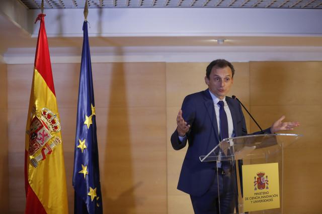 Pedro Duque, ministro de Ciencia / Gtres
