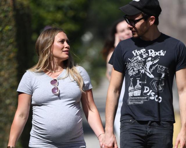 La actriz y cantante Hilary Duff embarazada / Gtres