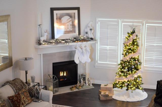 Fotos Casas Decoradas Navidad.Trucos Sencillos Y Baratos De Las Casas Mejor Decoradas Para
