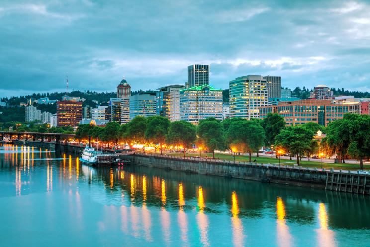 Downtown Portland, en Oregón / Gtres