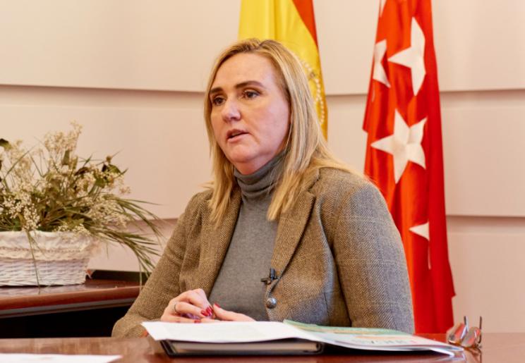 Rosalía Gonzalo, consejera de vivienda de la Comunidad de Madrid