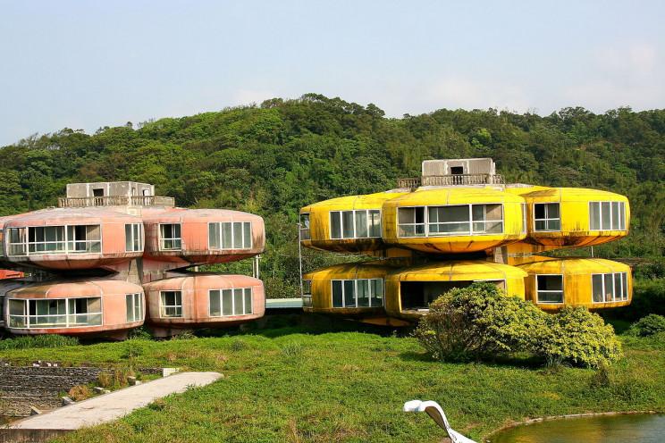 Casas Ovni, Taiwán
