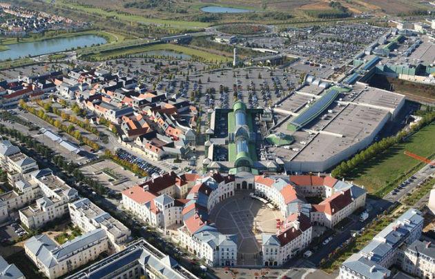 Centro comercial Val d'Europe (París) / Foto: Parisinfo.com