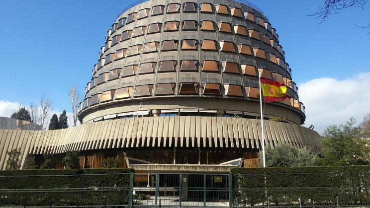 Exterior del Tribunal Constitucional / Wikimedia commons
