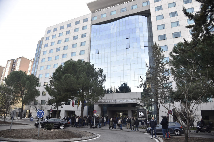 Hotel Eurostart Madrid / Gtres
