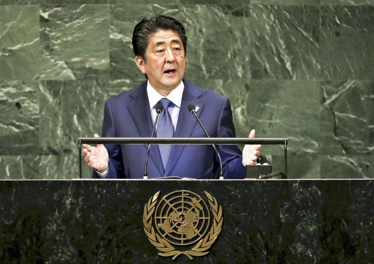 El primer ministro de Japón, Shinzo Abe / Gtres