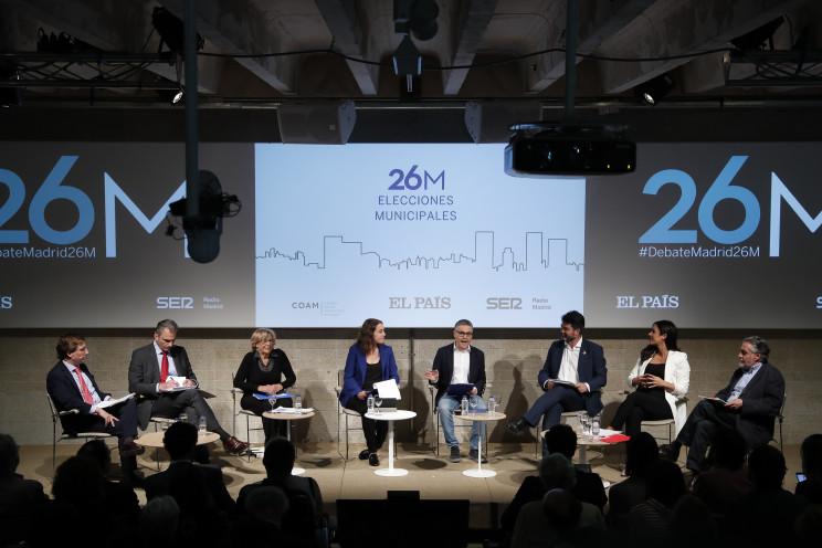 Las medidas en vivienda en el primer debate municipal a la alcaldía de Madrid