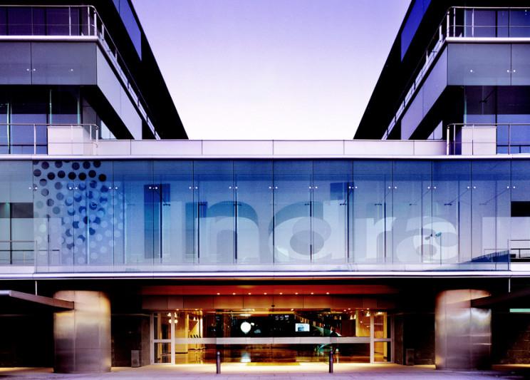 La actual sede de Indra en Alcobendas / Estudio Alvarez-Sala