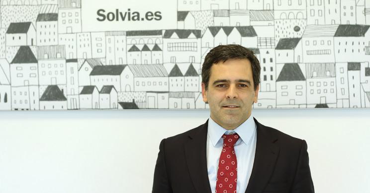 Javier García del Río, cuando era director general de Solvia