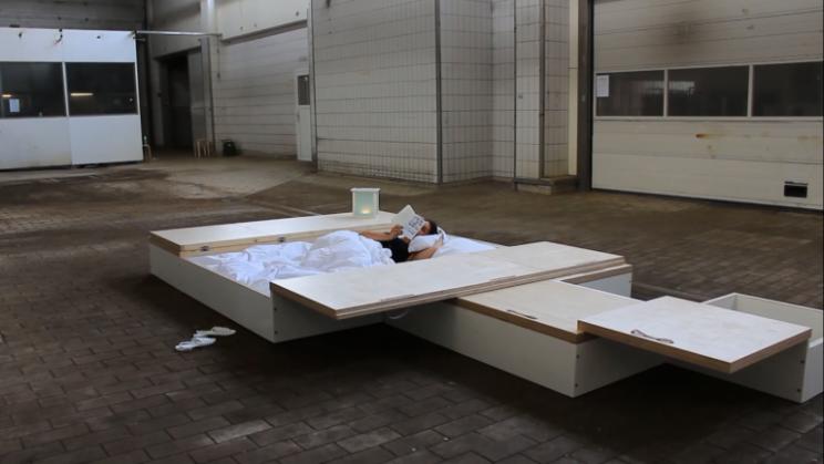 Es un diseño de una antigua alumna de la Design Academy Eindhoven