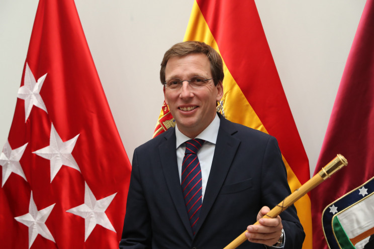 José Luis Martínez-Almeida, alcalde de Madrid / Gtres