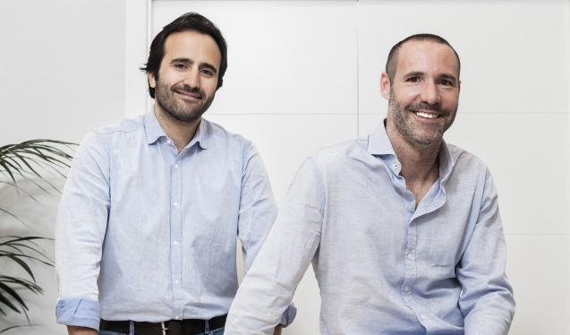 A la izquierda, Álvaro Luna y a la derecha, Tono Brusola