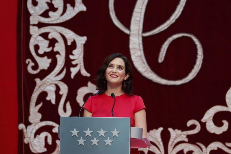 Isabel Díaz Ayuso, presidenta de la Comunidad de Madrid / Gtres
