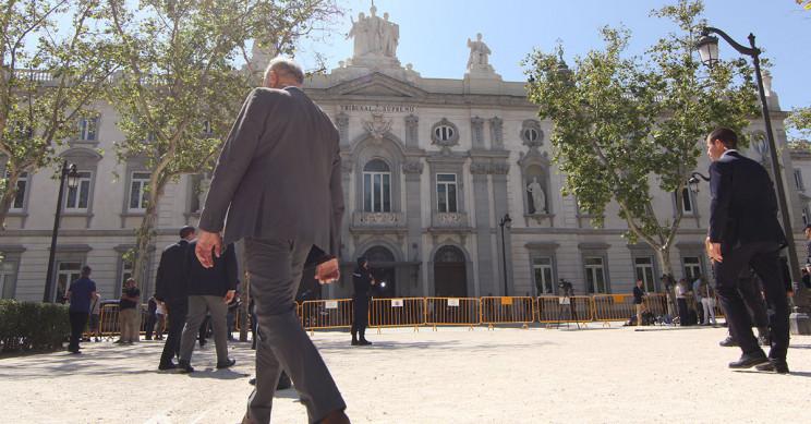 Fachada del Tribunal Supremo en Madrid