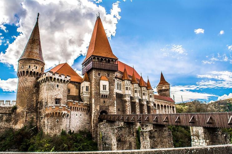 Castillo de Corvin (Rumania) Pixabay.