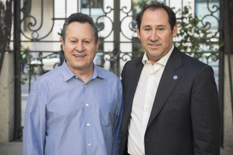 Gino Blefari, Chairman de Berkshire Hathaway HomeServices y  Bruno Rabassa, CEO Berkshire Hathaway HomeServices Larvia.