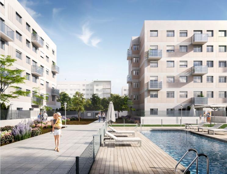 Promoción de viviendas en Valladolid / Grupo Lar