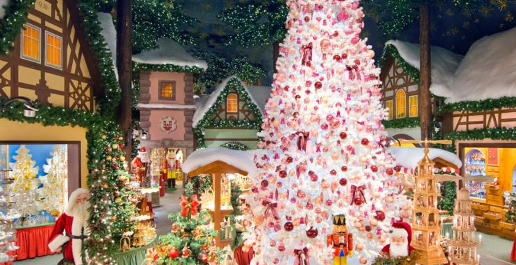 Santa Claus Llega A La Ciudad Käthe Wohlfahrt Abrirá En