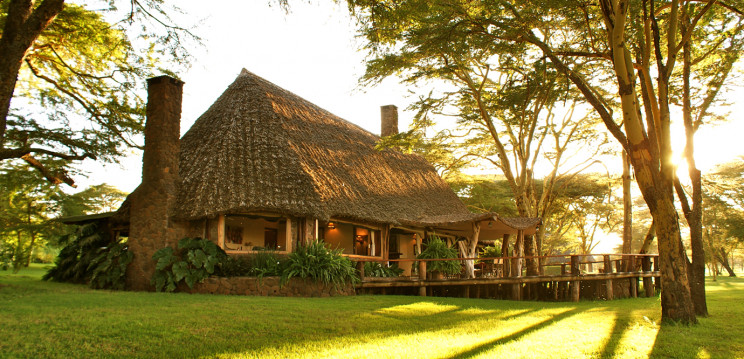 Casa principal / Sirikoi Lodge