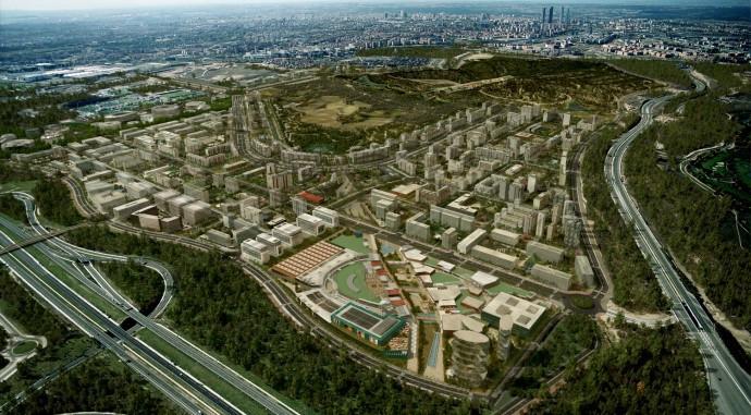 Imagen aérea de Valdebebas / Valdebebas