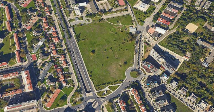 Suelo adquirido por Acciona en Lisboa / Google Earth