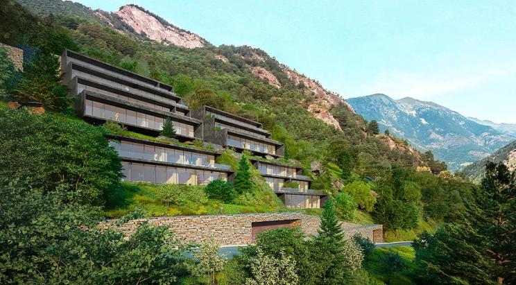 Imagen  - Estas espectaculares viviendas diseñadas por Rafael de La-Hoz parecen brotar de la montaña