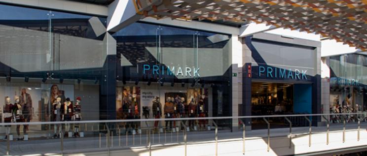 Una tienda de Primark en un centro comercial.