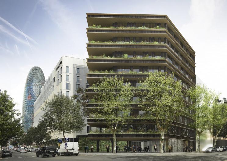 Uno de los activos de Patrizia en el distrito 22@ de Barcelona: Tánger, 73