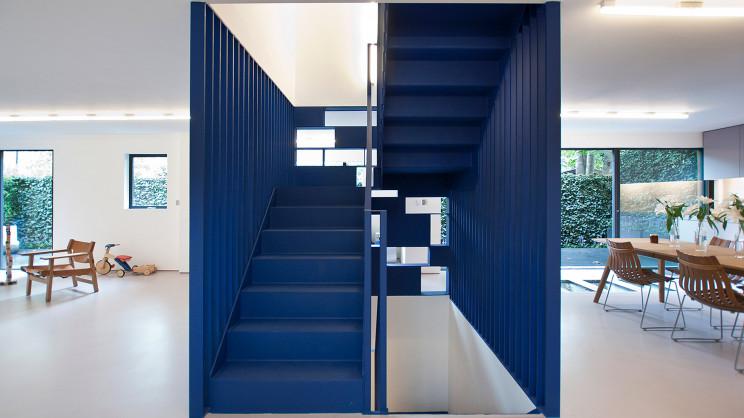 Roksanda Ilincic's house, London, by RA Projects